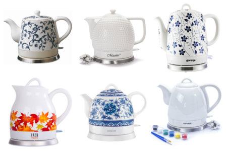 Elektryczny czajnik ceramiczny