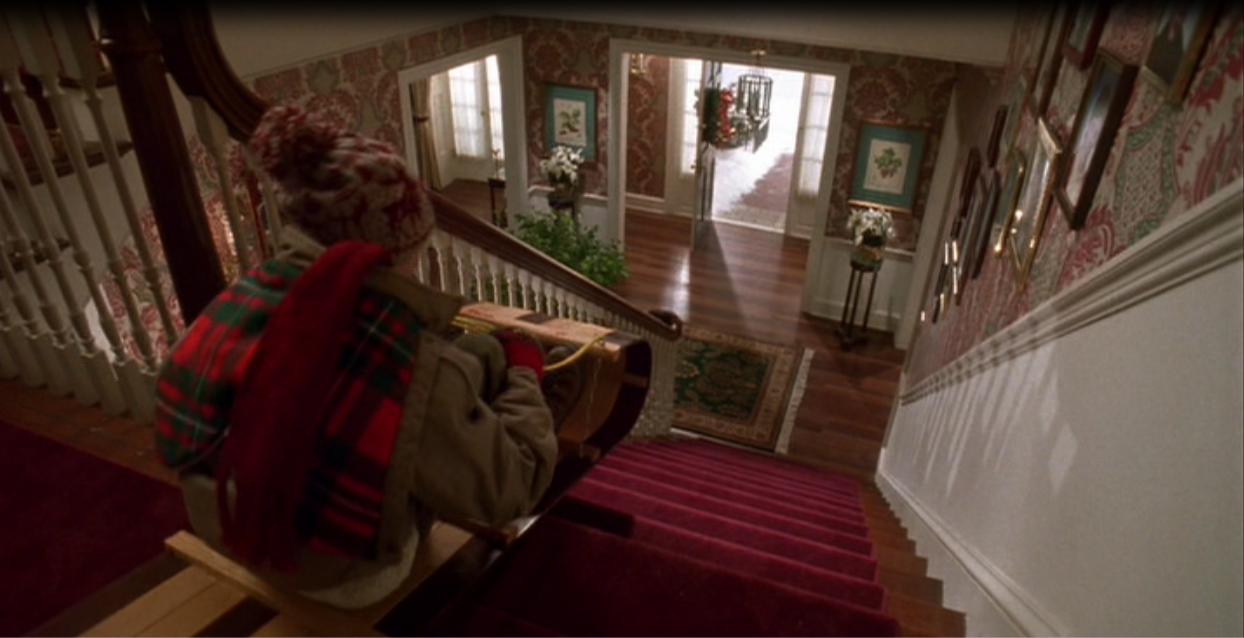 Kevin sam w domu - filmowy dom