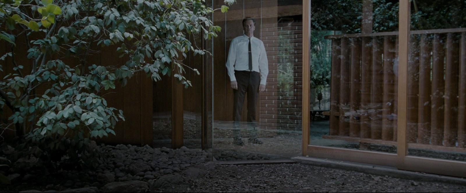 Samotny mężczyzna - filmowe domy