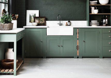 Modne kolory szafek kuchennych 2018