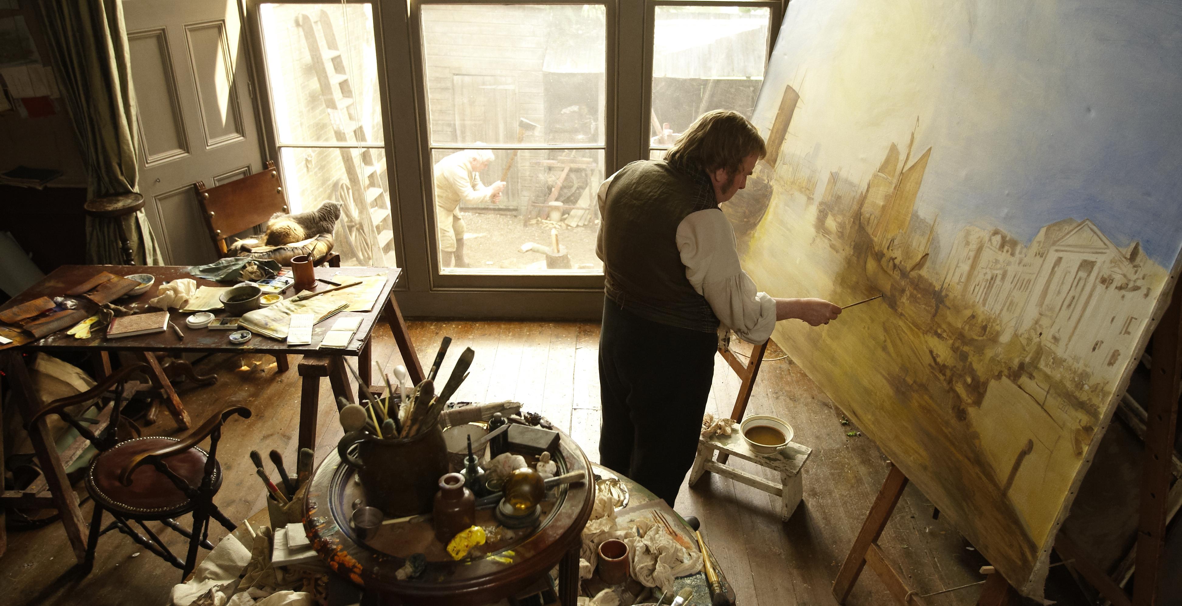 Filmy o artystach Mr. Turner
