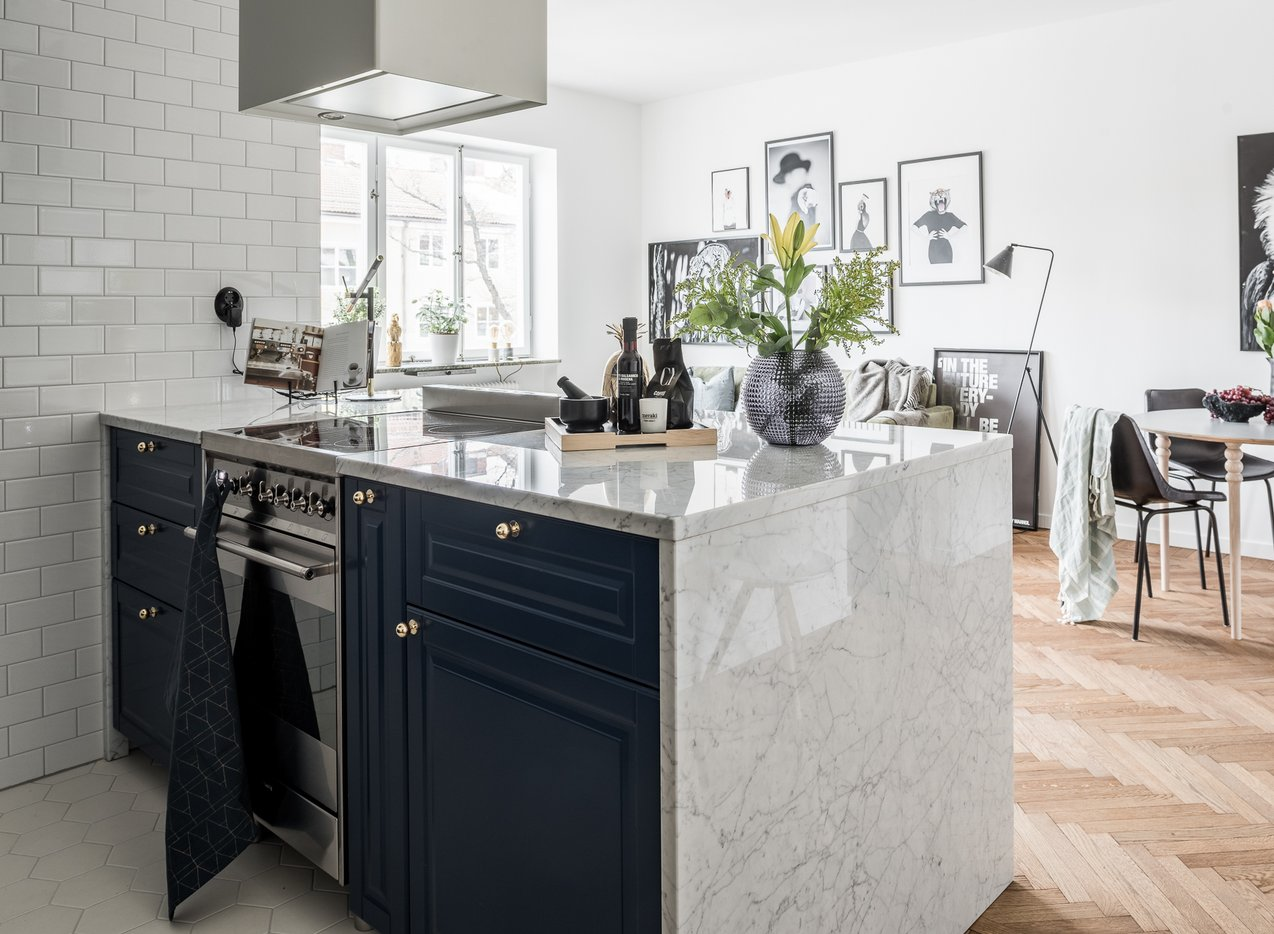Salon z aneksem kuchennym