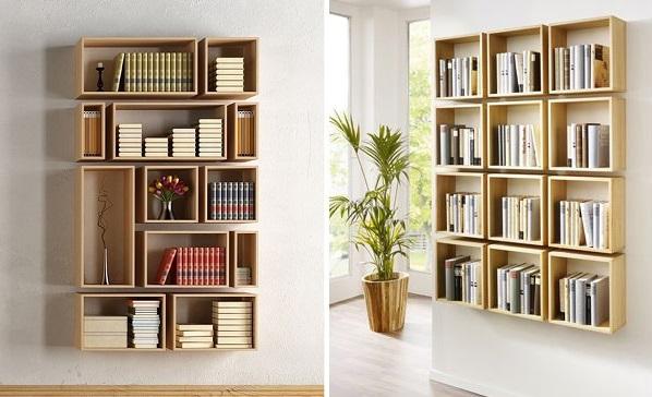 Pomysły na półki na książki