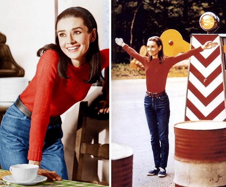 Audrey Hepburn Dwoje na drodze