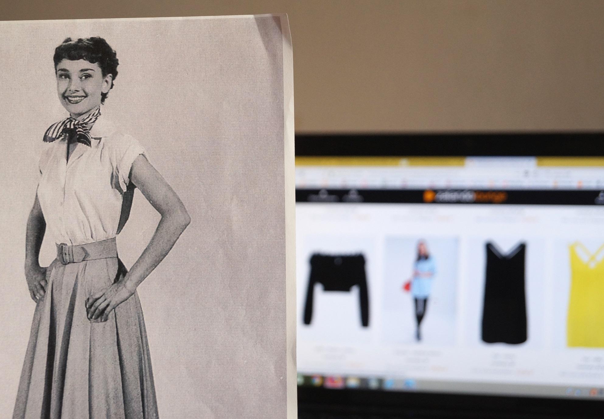 Stylizacja w stylu Audrey Hepburn