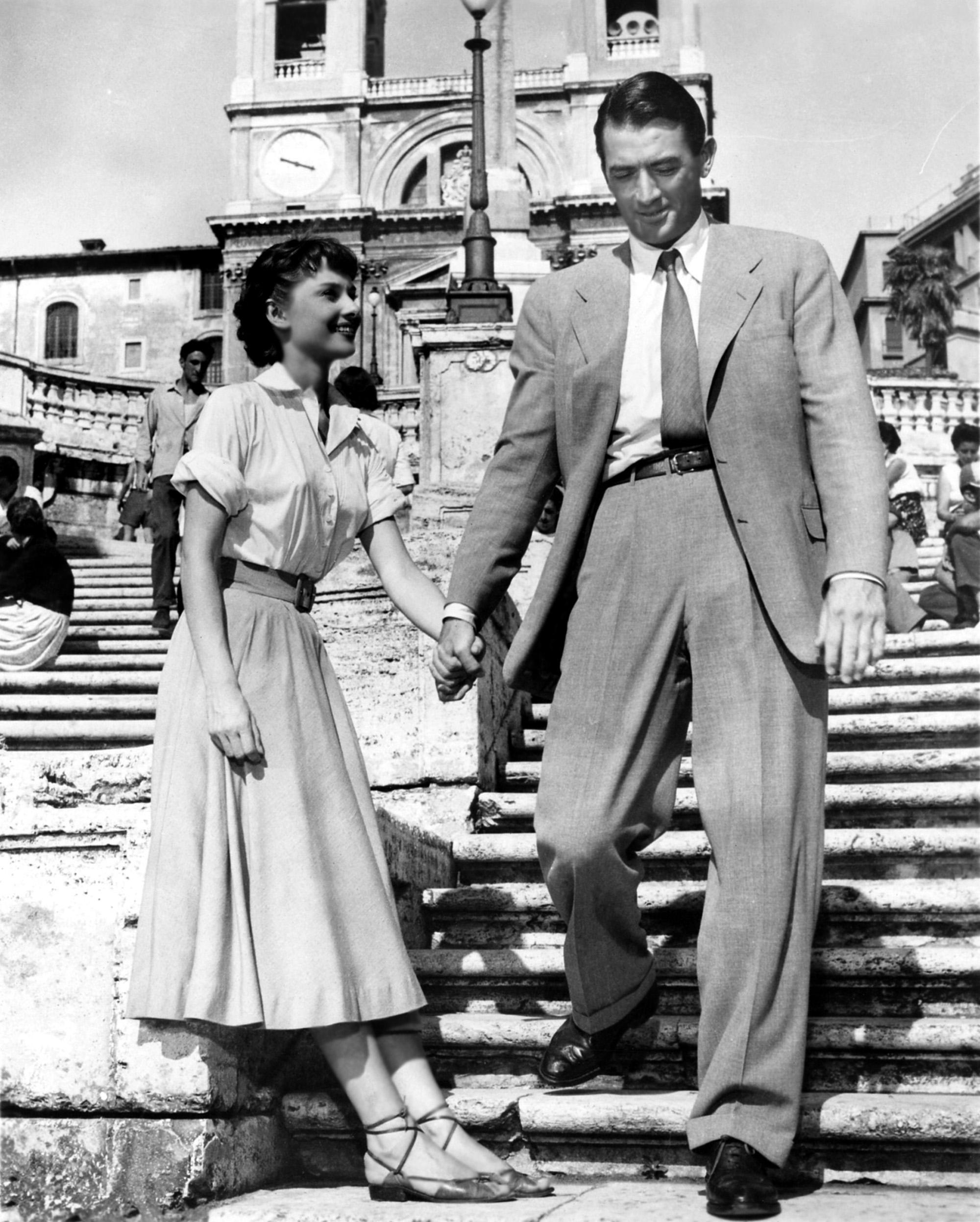 Audrey Hepburn Rzymskie wakacje