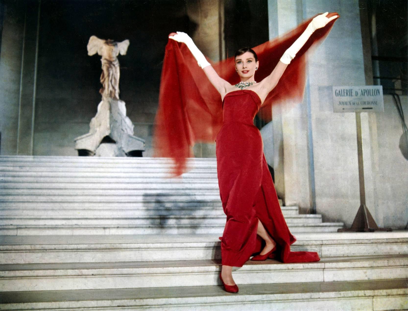 Audrey Hepburn Zabawna Buzia
