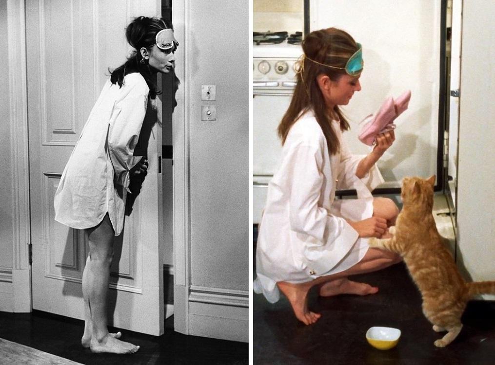 Audrey Hepburn Śniadanie u Tiffany'ego