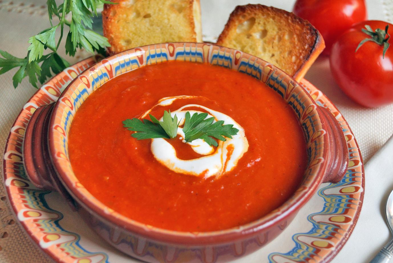 Krem paprykowo-pomidorowy. Przepis na zupę