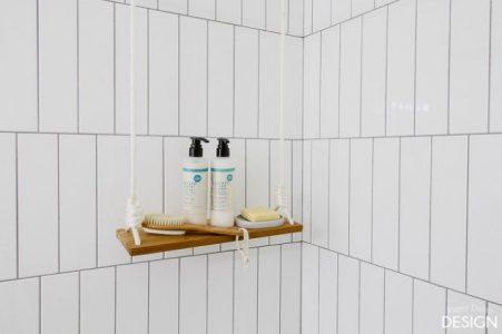 Półka pod prysznicem