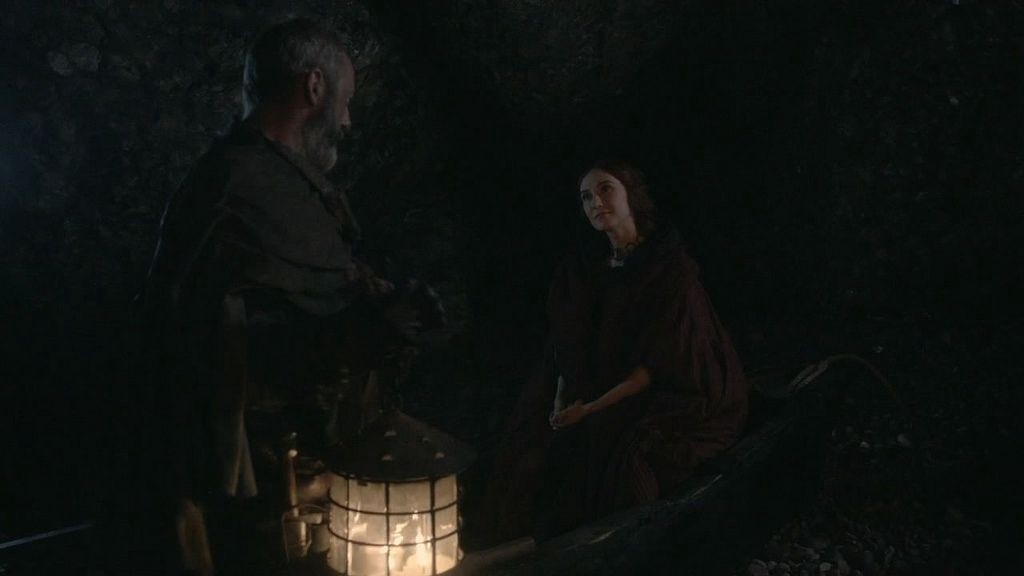 davos in the cave