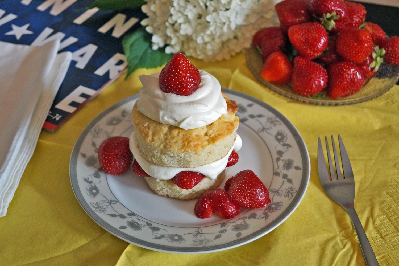 przepis na strawberry shortcake
