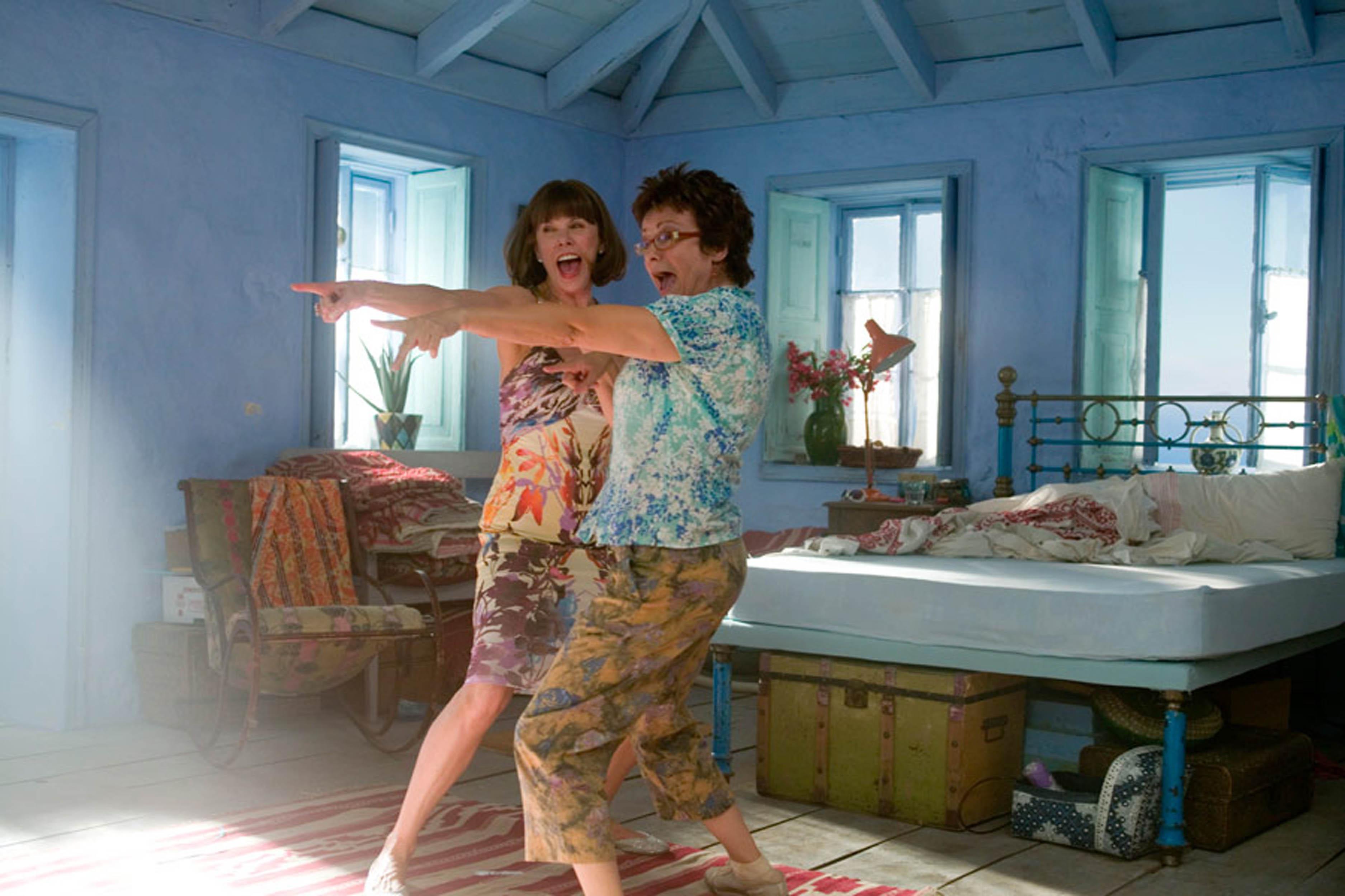 Mamma Mia Filmowe wnętrza