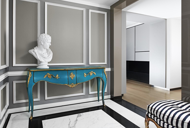 Kolory ścian w nowoczesnym salonie