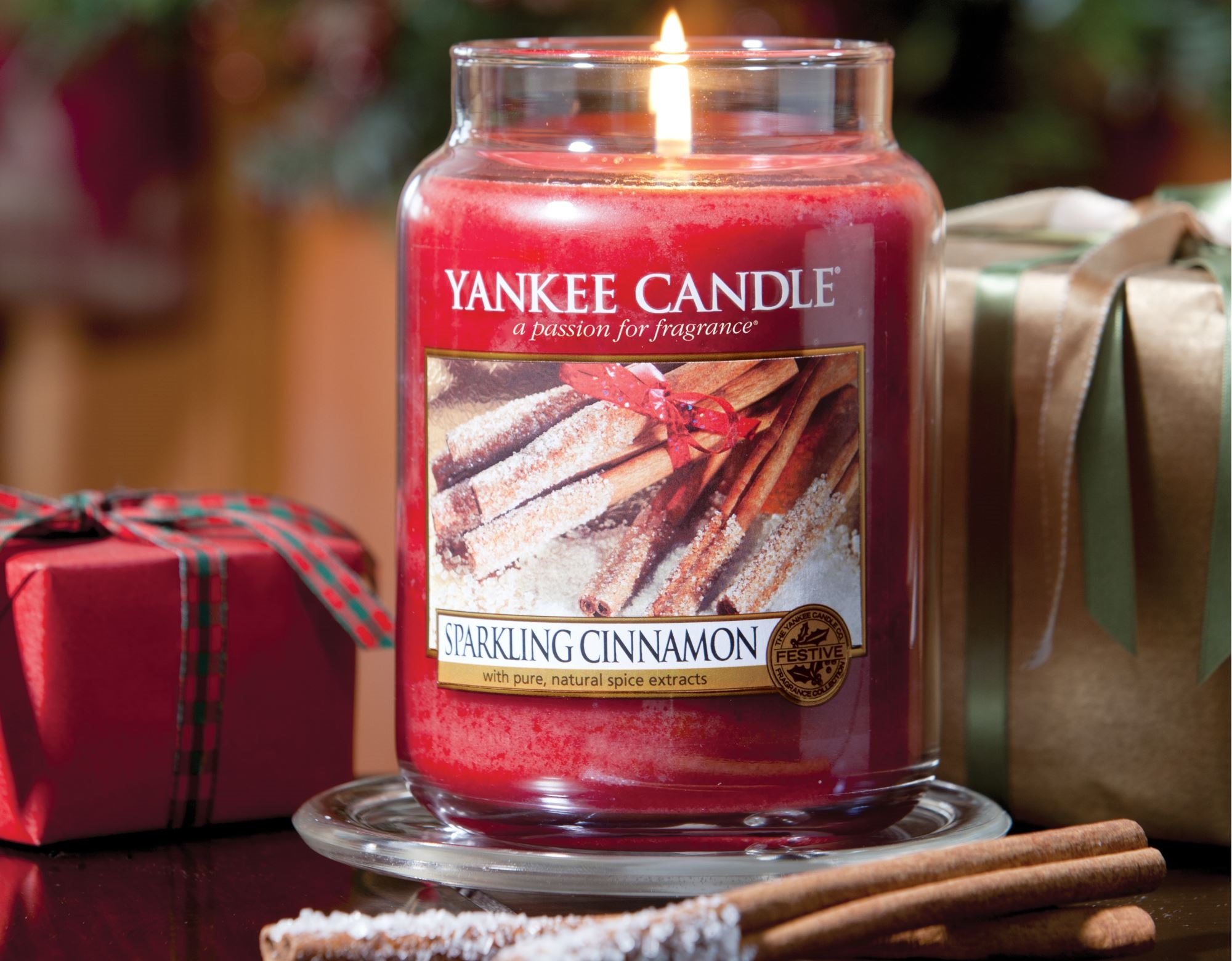 Sparkling Cinnamon Yankee candle