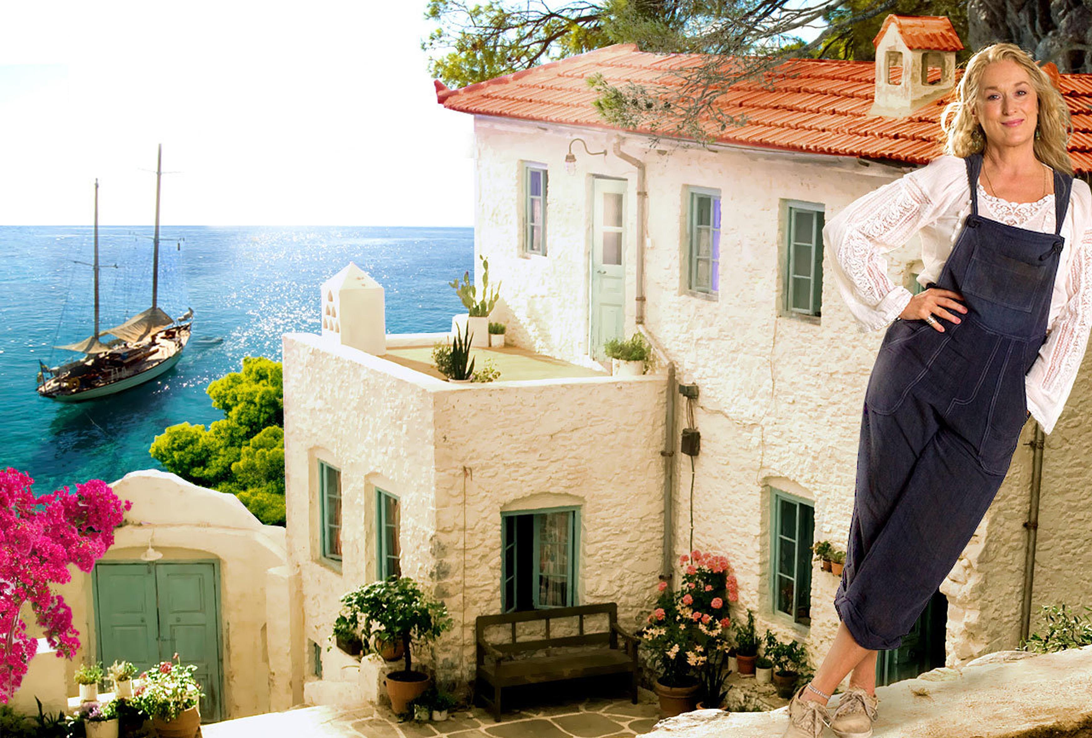 Mamma Mia! filmowe wnętrza