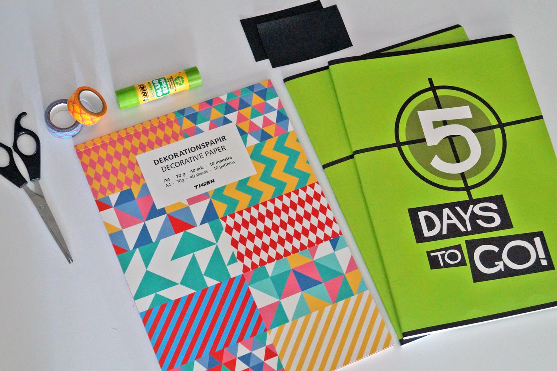 DIY Jak ozdobić zeszyt
