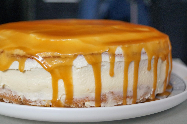 Ciasto z jabłkami, kremem i karmelem - najlepsze jesienne ciasto