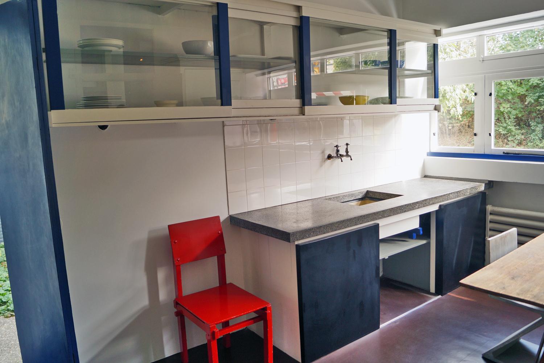 Dom Rietvelda w Utrechcie - kuchnia
