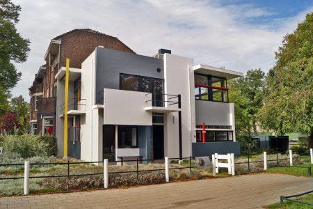 Dom Rietvelda w Utrechcie
