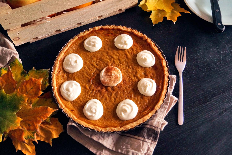 Pumpkin pie, placek dyniowy