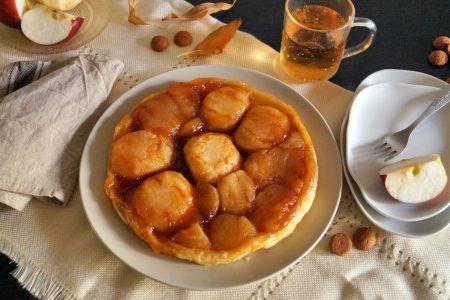 Tarta tatin przepis - ciasto z jabłkami