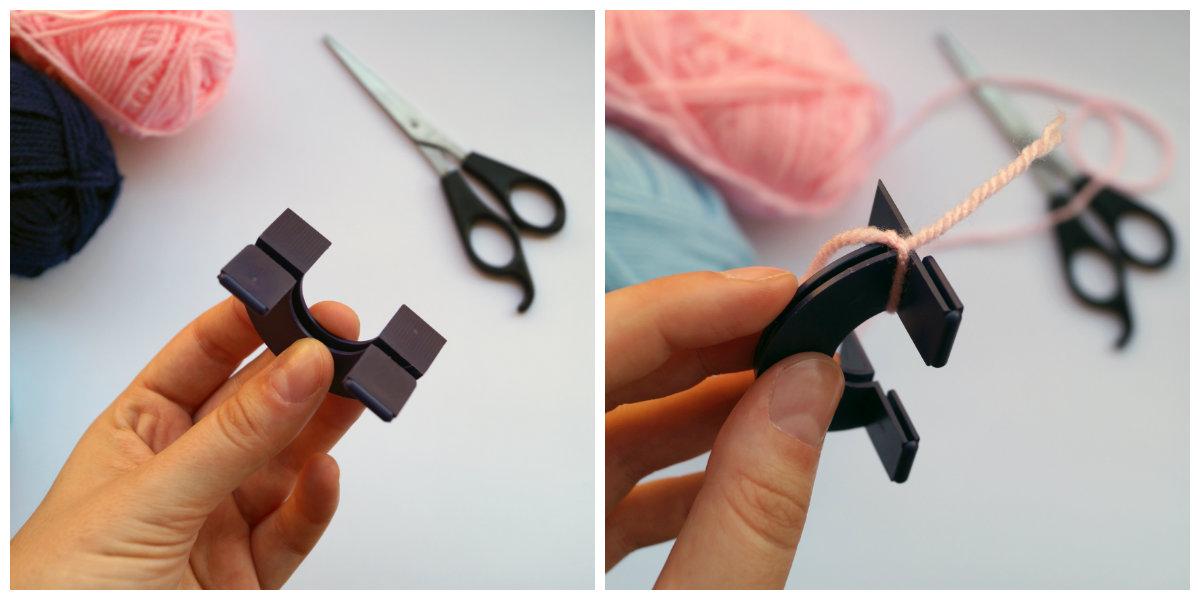 Jak zrobić pompony z włóczki - DIY