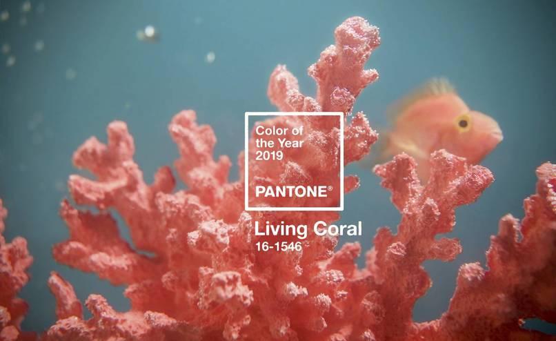 Living Coral - Kolor Roku 2019