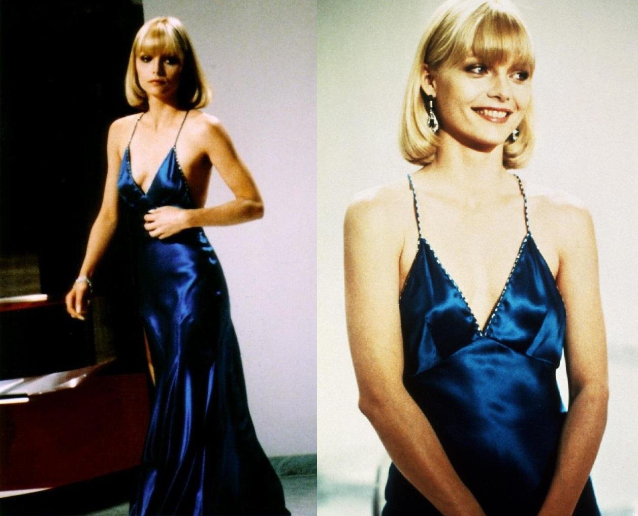 Człowiek z blizną - sukienka Michelle Pfeiffer