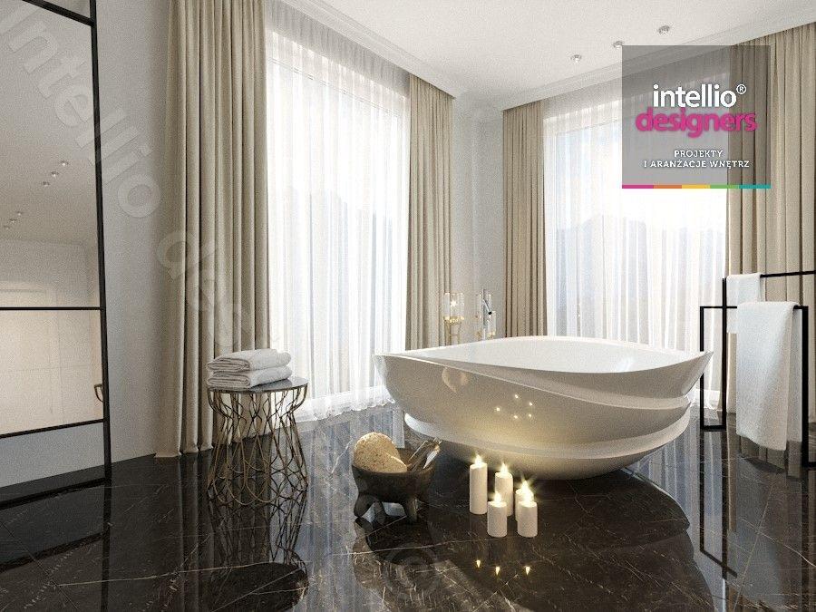Luksusowe wnętrza w stylu glamour