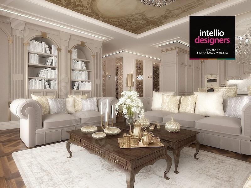 Luksusowe wnętrza w hollywoodzkim stylu