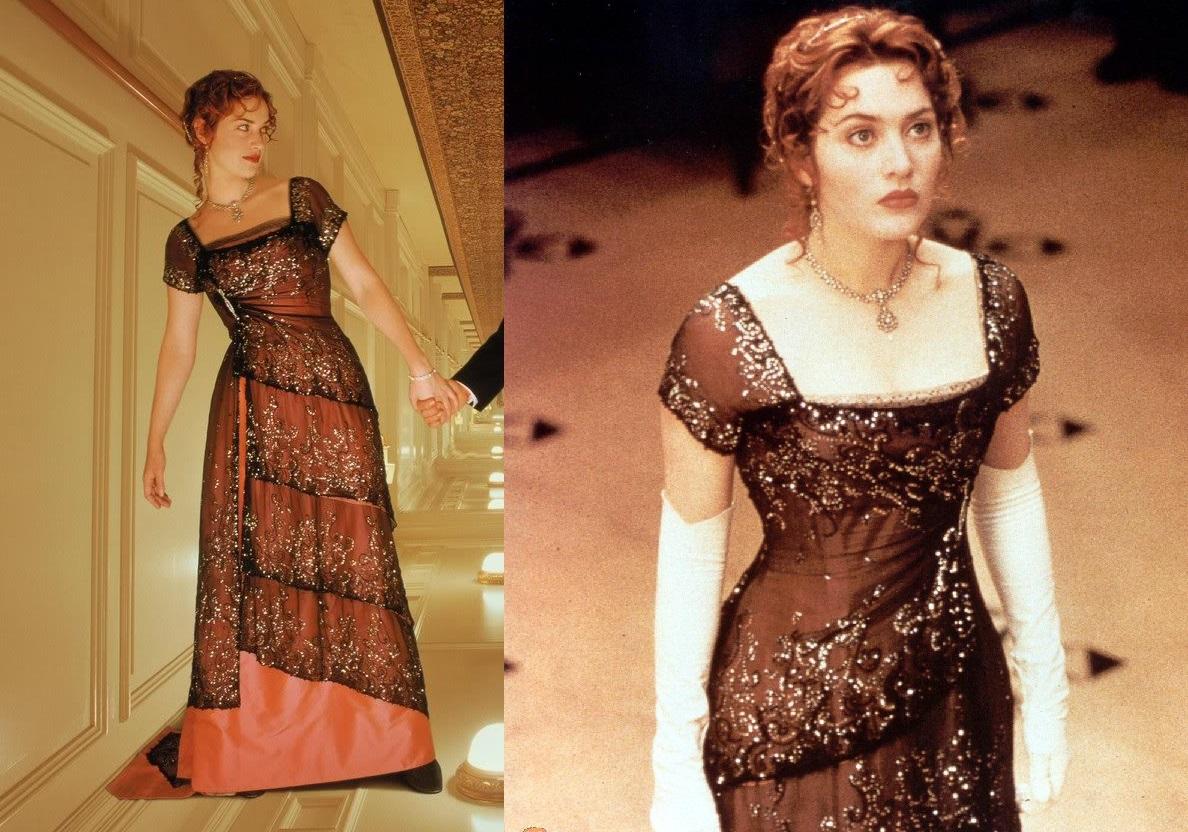 Titanic - sukienka Kate winslet