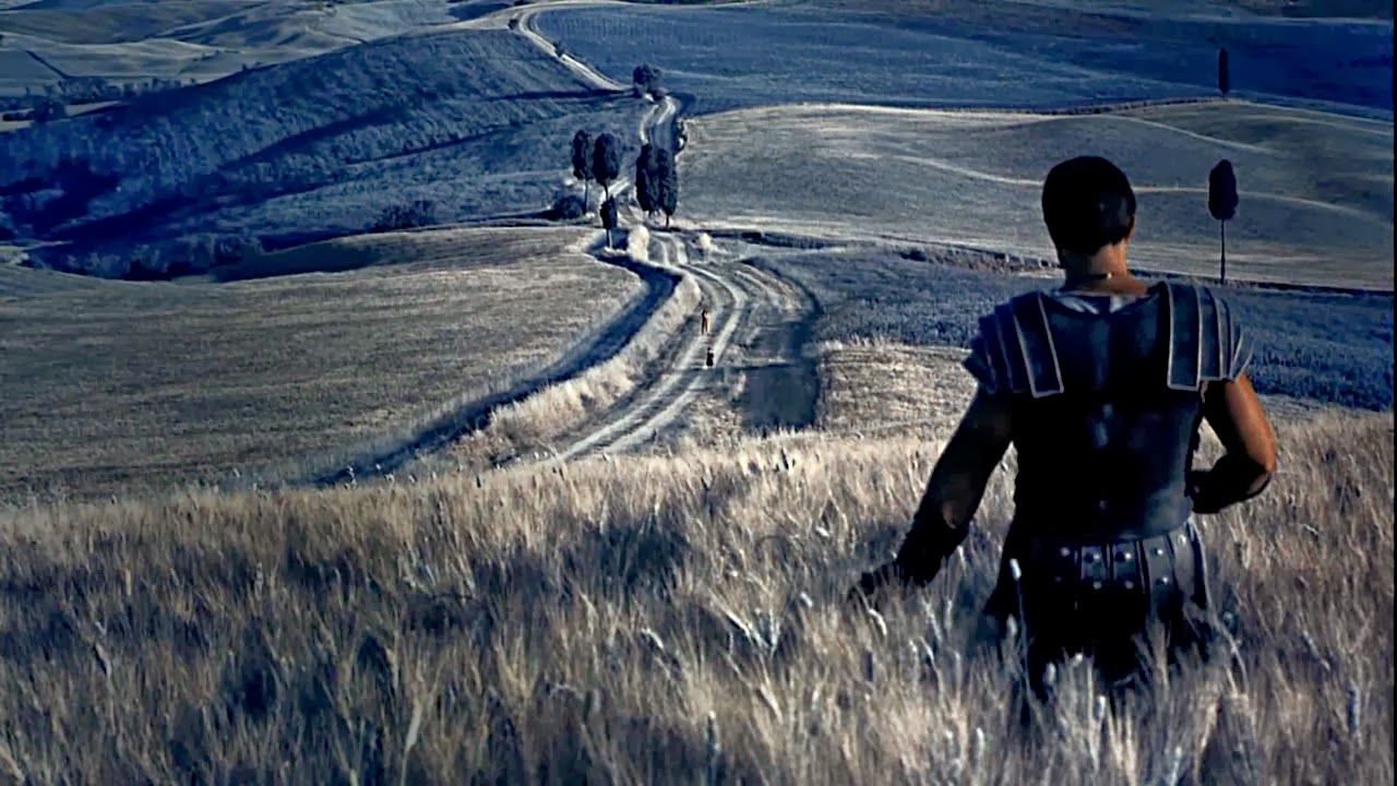 Toskania w filmach. Gladiator