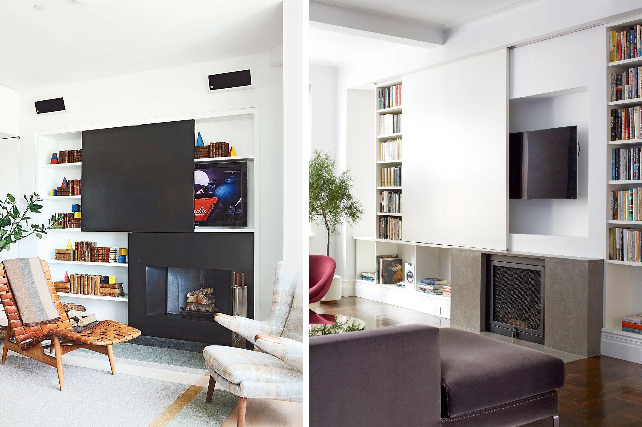 Jak ukryć telewizor w salonie?