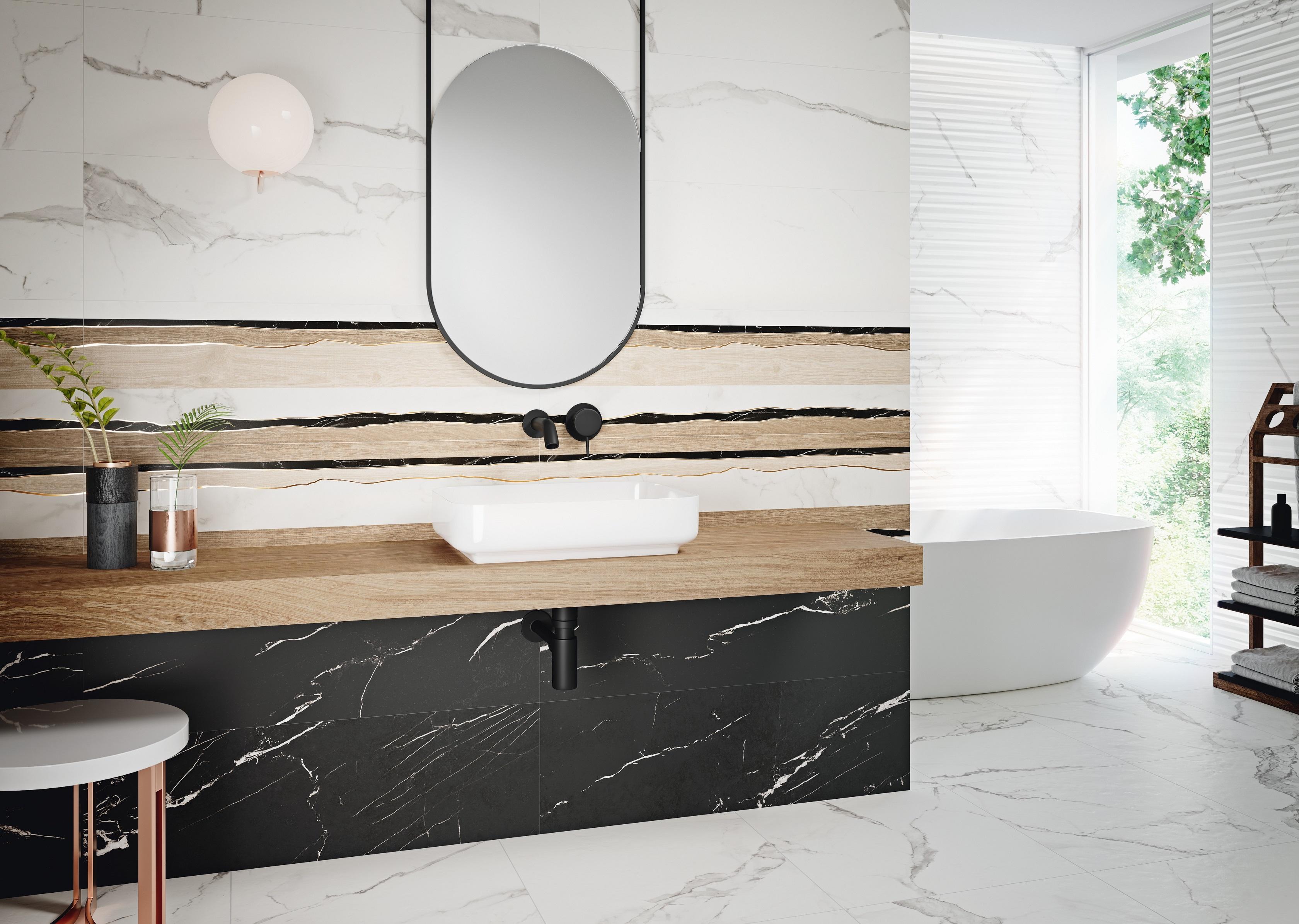 Trendy w urządzaniu łazienki 2019