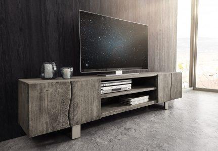 jak ukryć telewizor w salonie