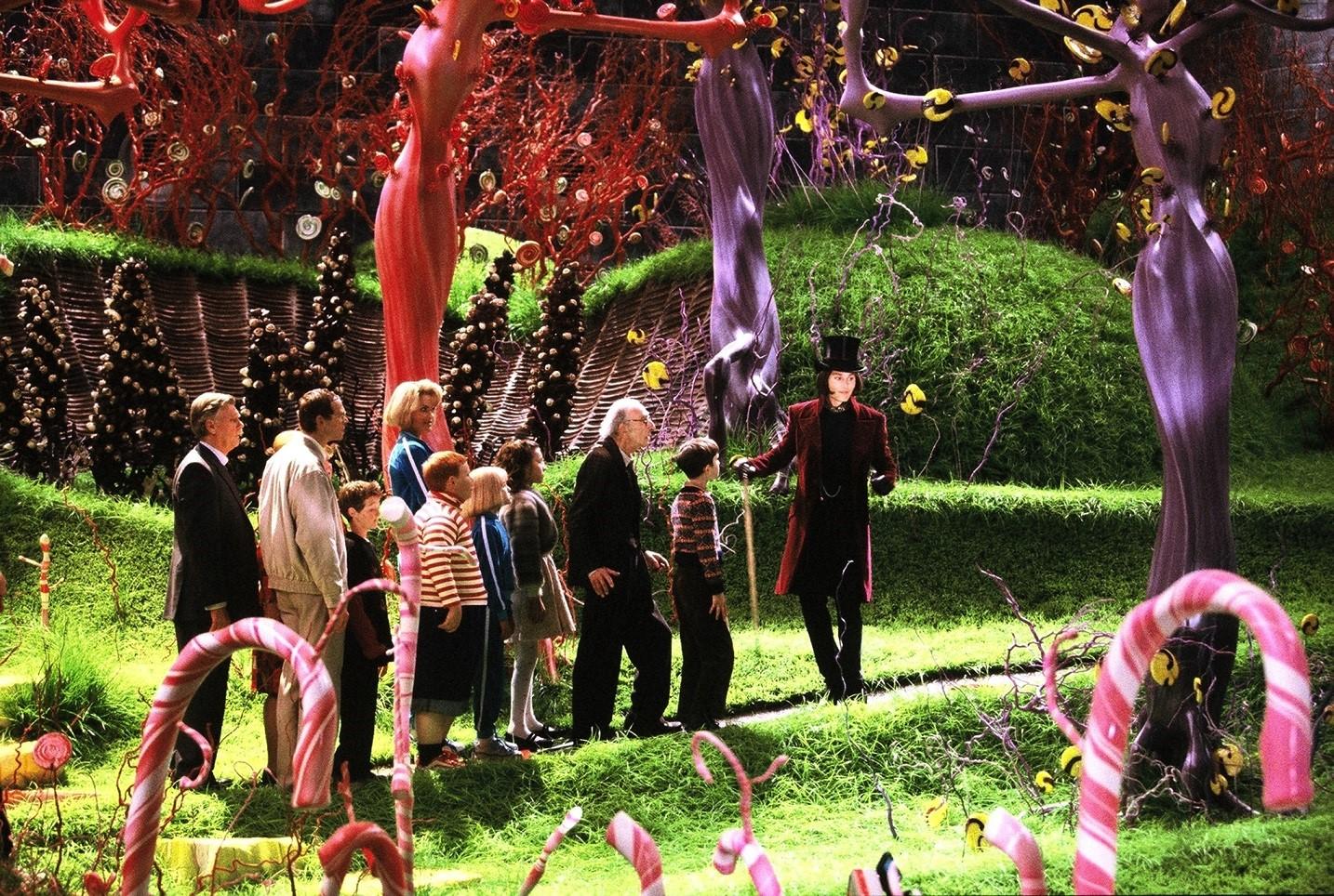 Najpiękniejsze ogrody z filmów - Charlie i fabryka czekolady