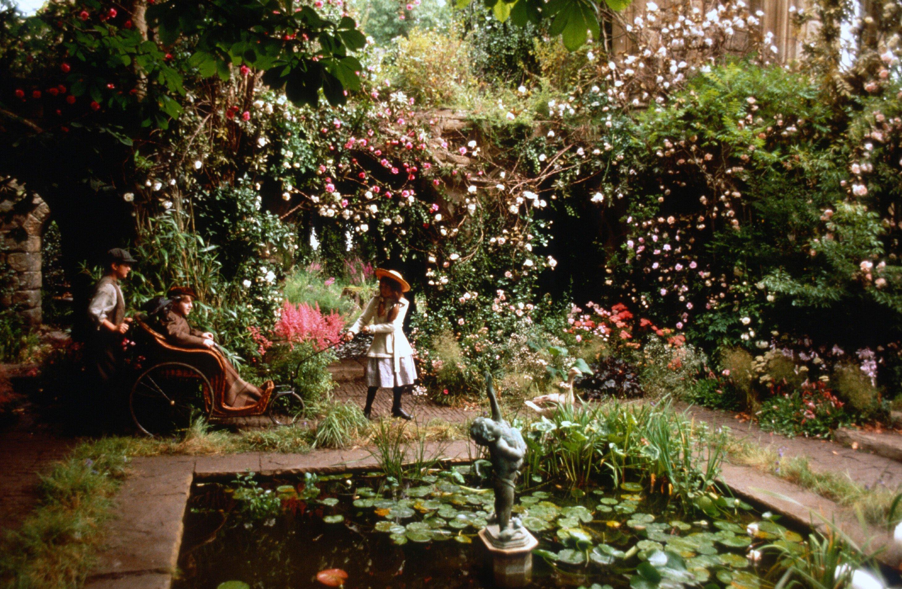 Najpiękniejsze ogrody z filmów - Tajemniczy ogród