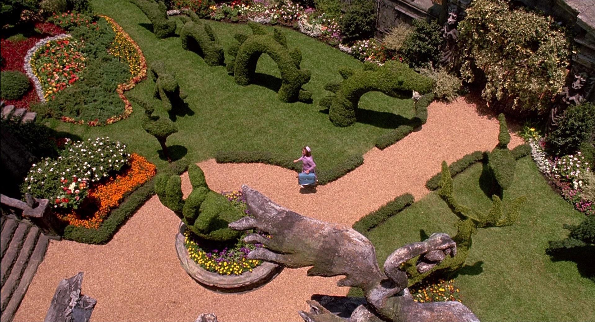 Najpiękniejsze ogrody z filmów - Edward Nożycoręki
