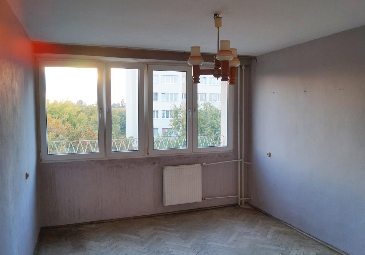 Wymiana okna w mieszkaniu w bloku