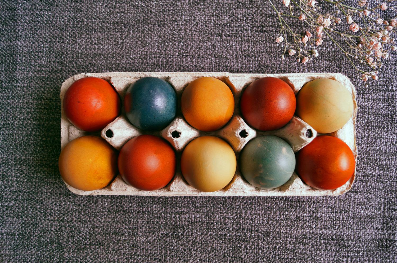 Naturalne barwniki do jajek pisanek. Sprawdziłam, czy naprawdę działają