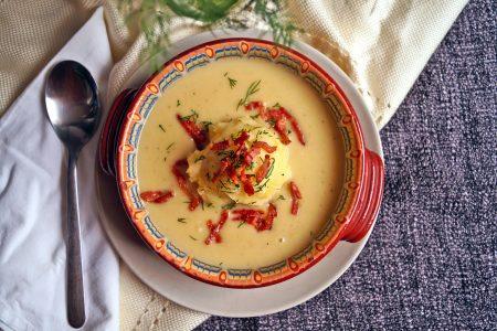 Zupa chrzanowa przepis