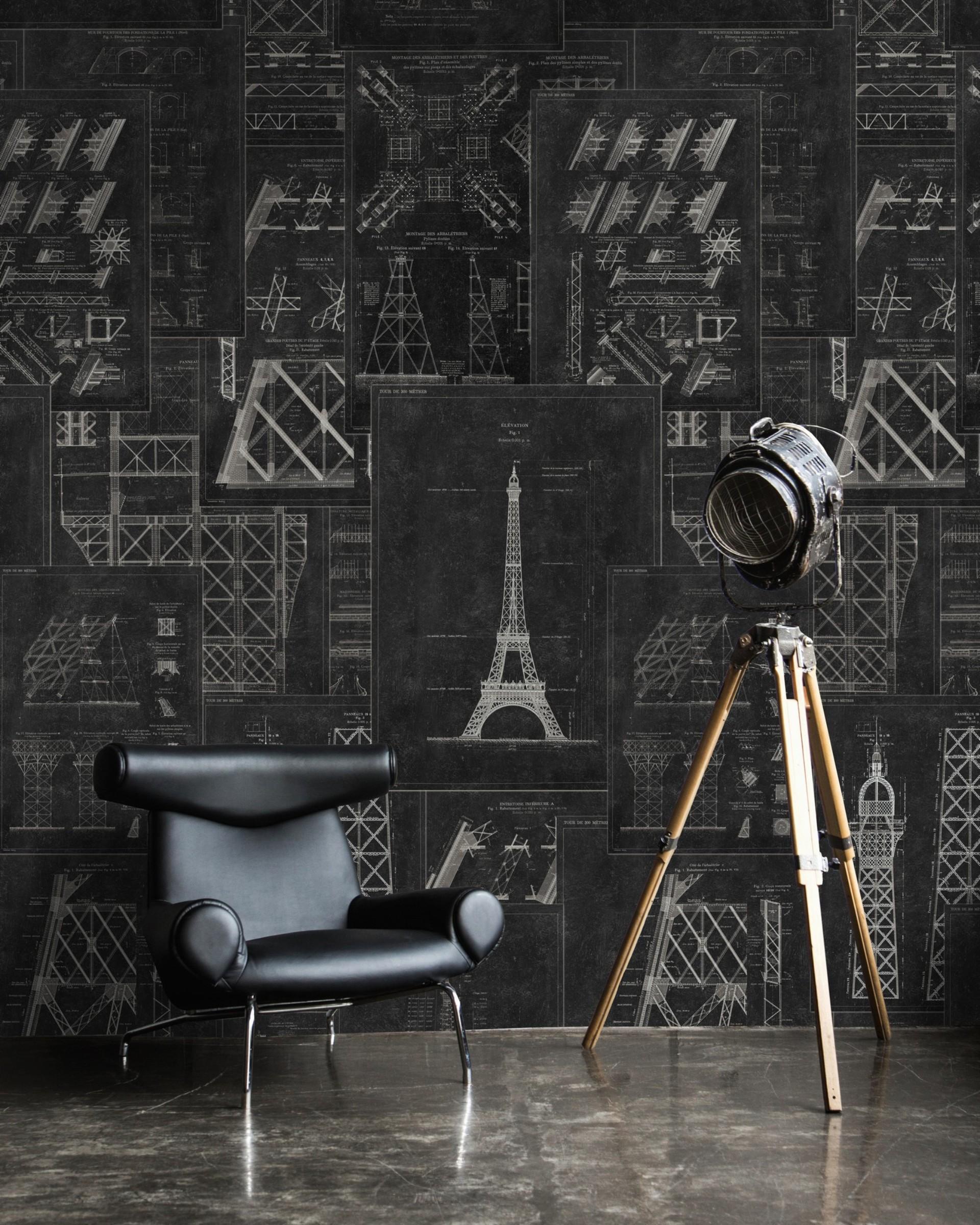 Antracyt - kolor na ściany modne wnętrza