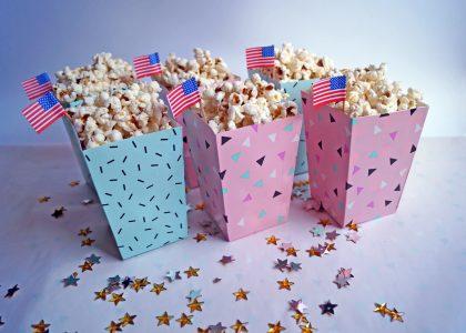 Jak zrobić pudełko na popcorn DIY?