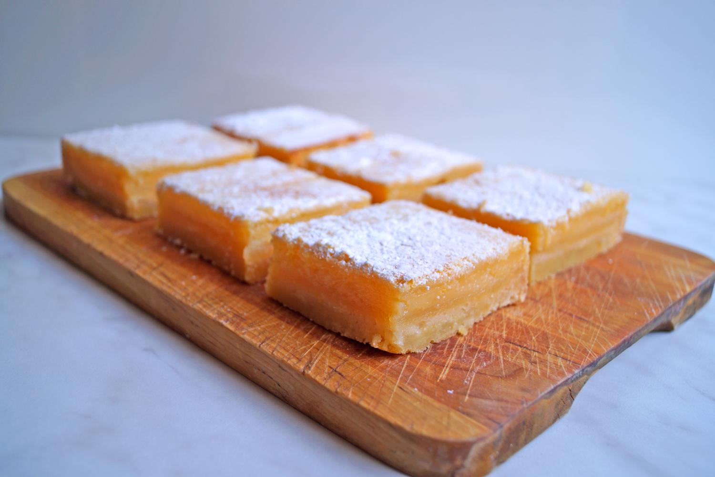 Ciasto cytrynowe kwadraciki przepis