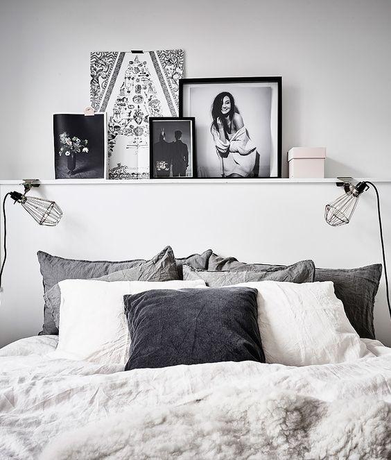 Lampy przy łóżku w sypialni na 4 sposoby