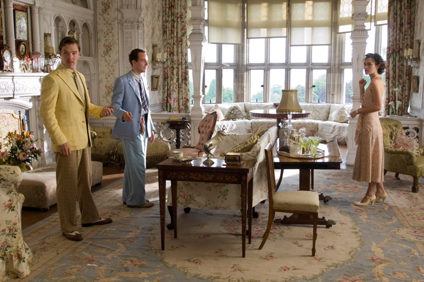 Film Pokuta wiktoriański pałac