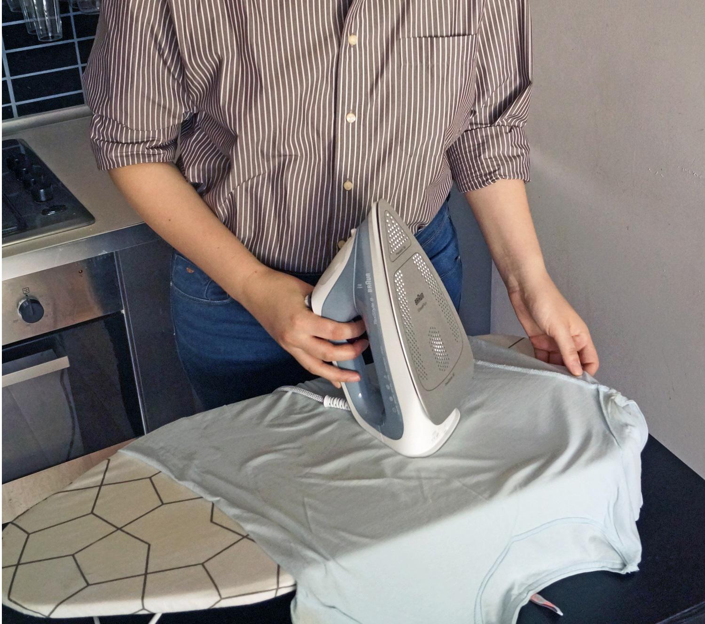 Żelazko przyjazne tkaninom: test Braun TexStyle 9 9187EWH