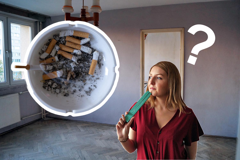 Mieszkanie po palaczu. Jak się pozbyć plam po nikotynie ze ścian?