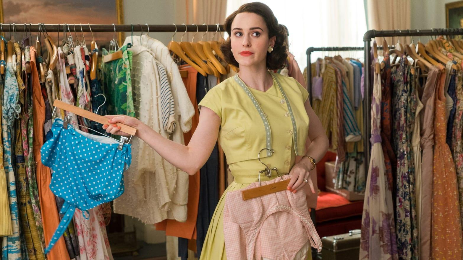 """Marvelous Mrs. Maisel"" i stylowy powrót do lat 50."